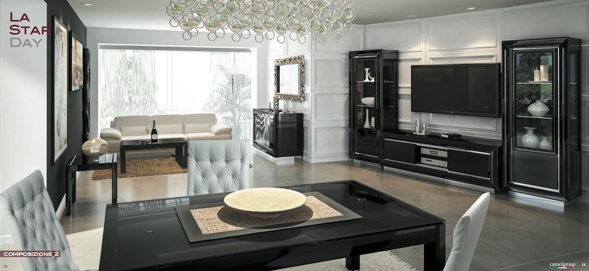 Итальянская мебель для гостиной, новинка 2013